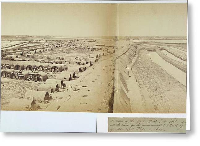 The Great South Taku Fort Greeting Card by British Library