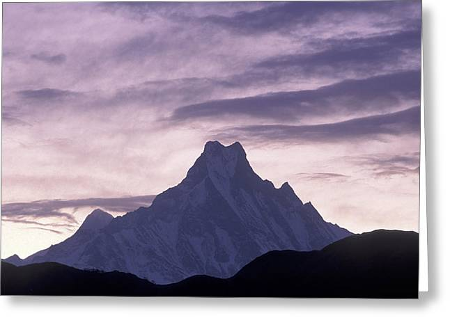 The Himalayas Greeting Card by Anonymous
