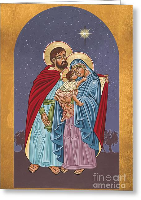 The Holy Family For The Holy Family Hospital Of Bethlehem 272 Greeting Card