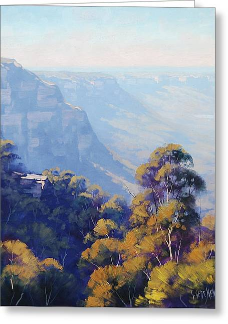The Jamison Valley Greeting Card