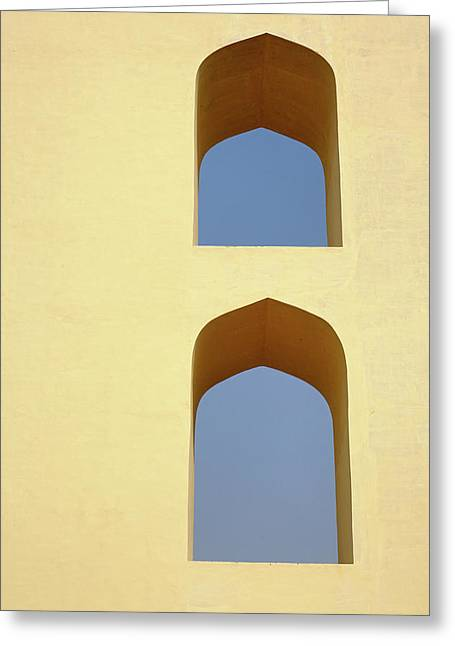 The Jantar Mantar, A Collection Greeting Card by Adam Jones