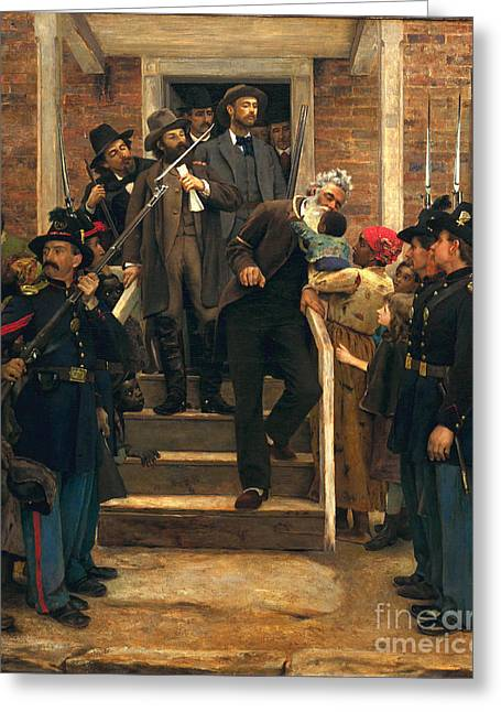 The Last Moments Of John Brown Greeting Card