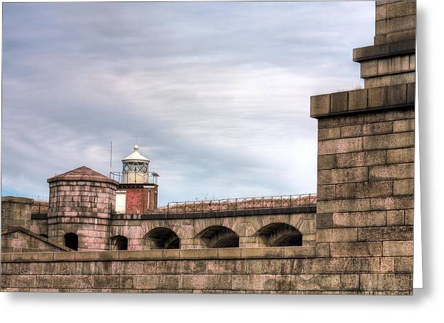 The Lighthouse  Greeting Card by JC Findley