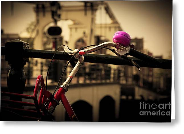 The Magere Brug Amsterdam Greeting Card