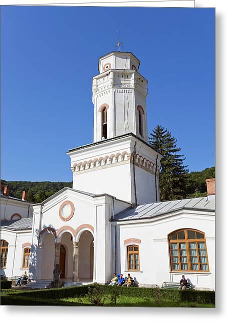 The Monastery Of Bistrita In Wallachia Greeting Card by Martin Zwick