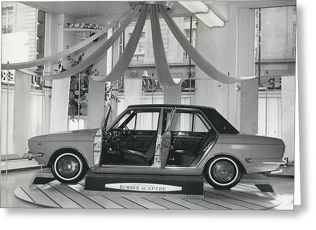The New Humber Scepter Greeting Card by Retro Images Archive