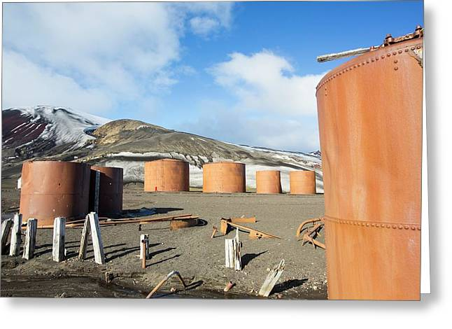 The Old Abandoned Whaling Station Greeting Card by Ashley Cooper
