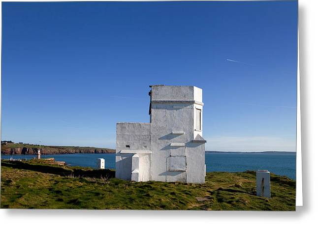 The Old Coastguard Station, Dunmore Greeting Card