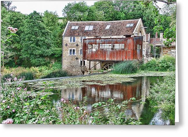 The Old Mill Avoncliff Greeting Card