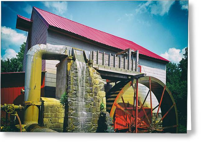 The Old Mill Of Guilford Greeting Card