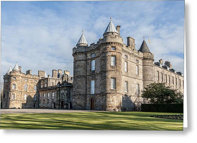 The Palace Of Holyroodhouse Greeting Card