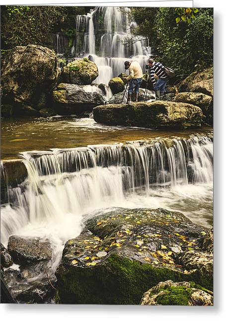 The Photographer's Quest V Greeting Card by Marco Oliveira