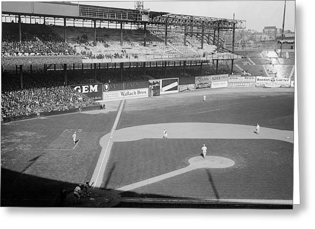 The Polo Grounds 1923 Greeting Card