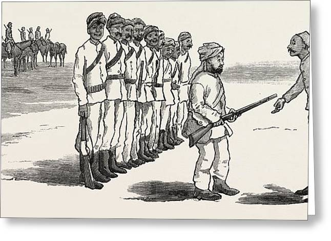 The Rebellion In The Soudan Sudan The Material With Which Greeting Card