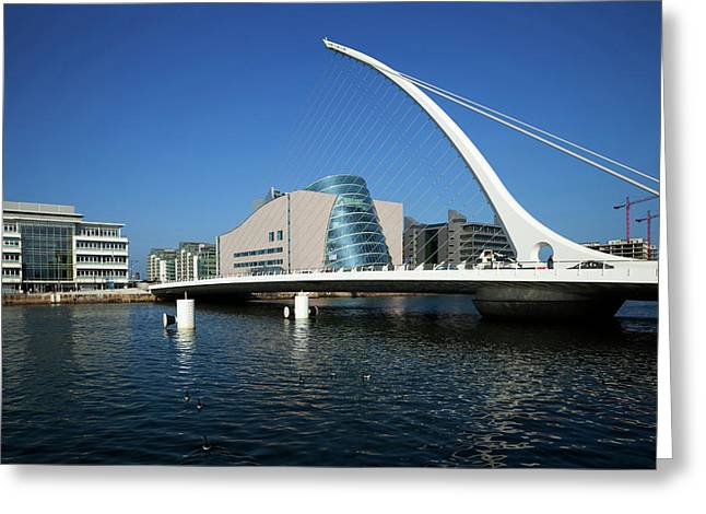 The Samual Beckett Bridge Greeting Card