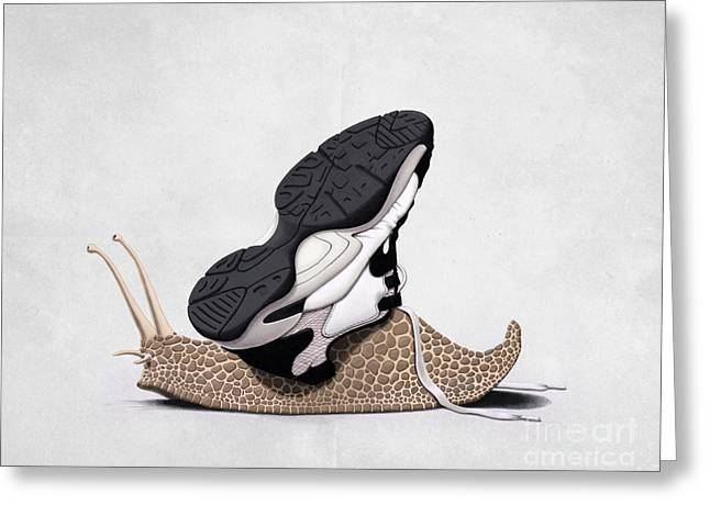 The Sneaker Wordless Greeting Card