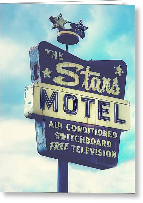 The Stars Motel In Chicago Greeting Card