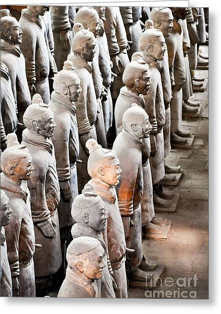 The Terracotta Army Greeting Card