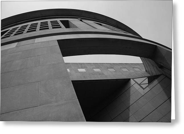 Greeting Card featuring the photograph The United States Holocaust Memorial Museum by Cora Wandel