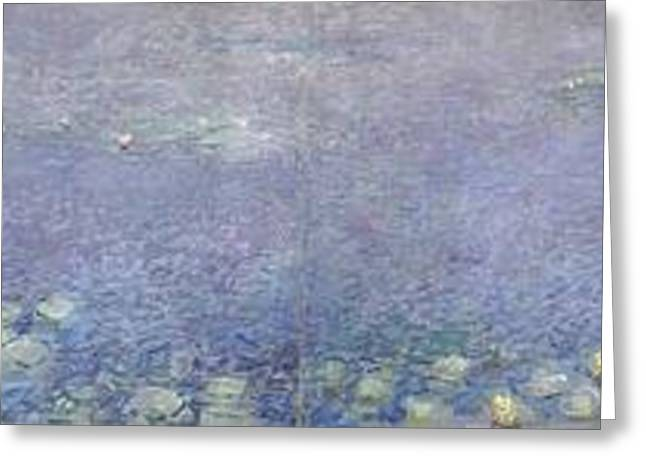 The Water Lilies Greeting Card
