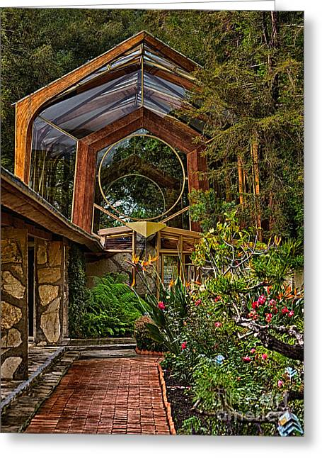 The Wayfarers Chapel Greeting Card