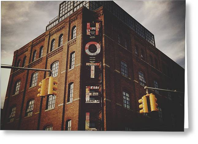 The Wythe Hotel Greeting Card