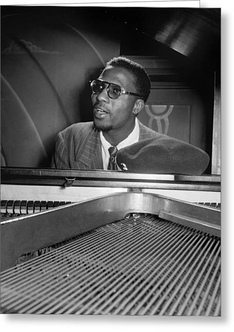 Thelonious Monk (1917-1982) Greeting Card by Granger