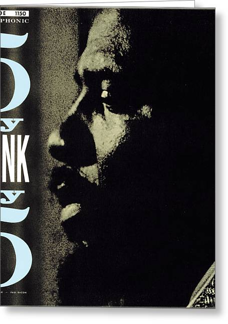Thelonious Monk -  5 By Monk By 5 Greeting Card