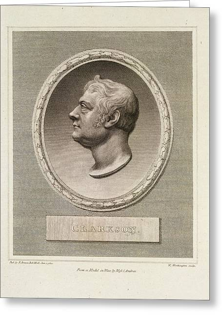 Thomas Clarkson Greeting Card
