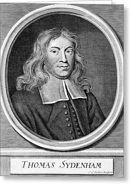Thomas Sydenham Greeting Card
