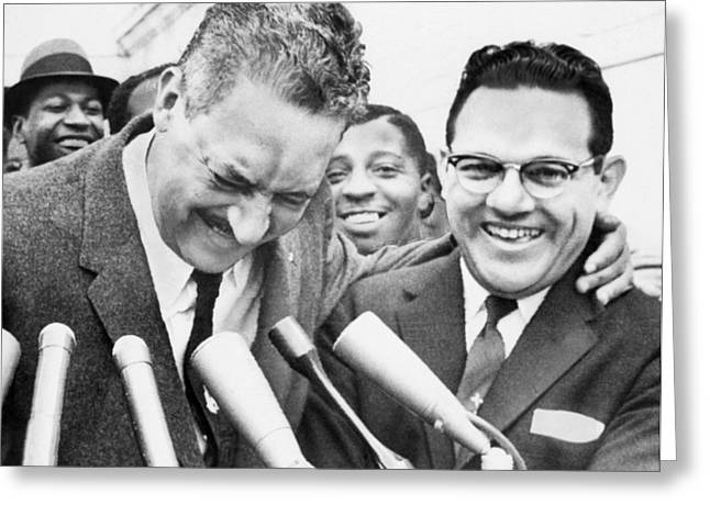 Thurgood Marshall (1908-1993) Greeting Card by Granger
