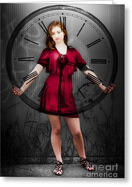 Time Greeting Card by Jorgo Photography - Wall Art Gallery