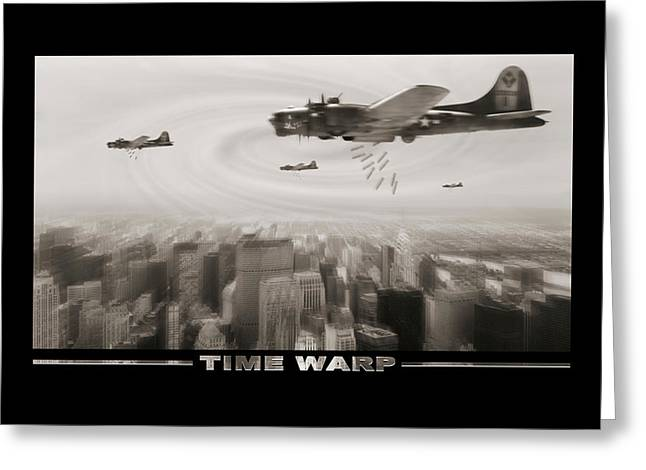 Time Warp Greeting Card by Mike McGlothlen