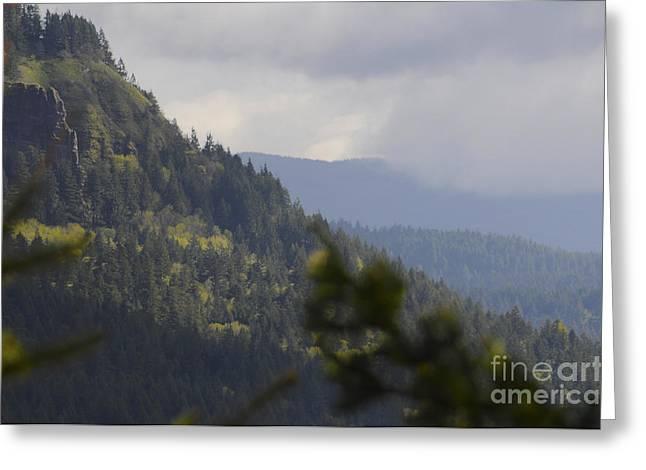 Timestack Columbia River Gorge Greeting Card