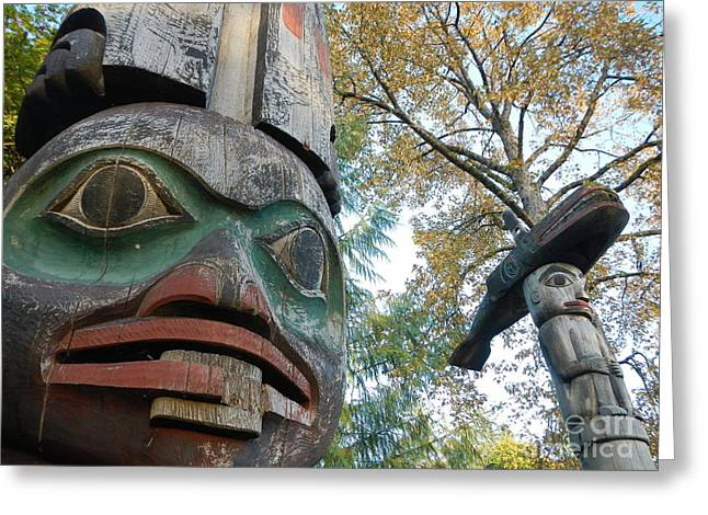 Tlingit Totem Greeting Card