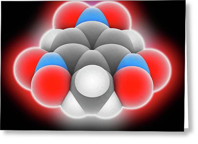 Tnt Molecule Greeting Card by Laguna Design