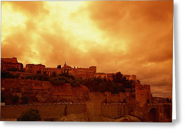 Toledo Spain Greeting Card by Panoramic Images