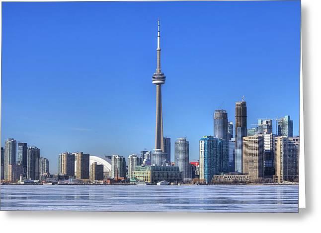Toronto Greeting Card by Joana Kruse