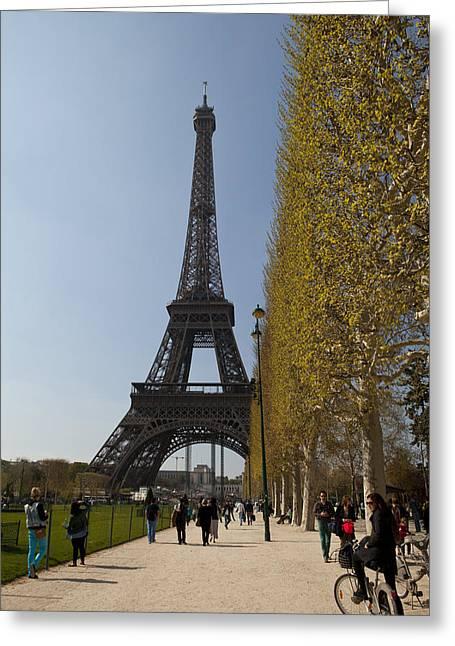 Tour Eiffel 6 Greeting Card by Art Ferrier