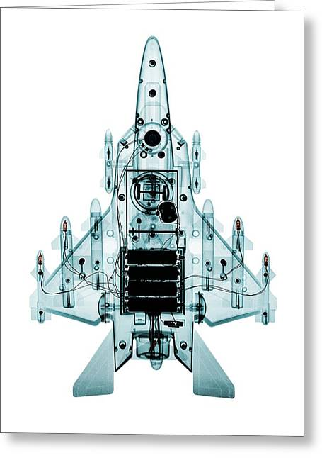 Toy Fighter Plane Greeting Card by Brendan Fitzpatrick