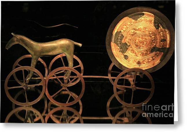 Trundholm Sun Chariot, Bronze Age Greeting Card