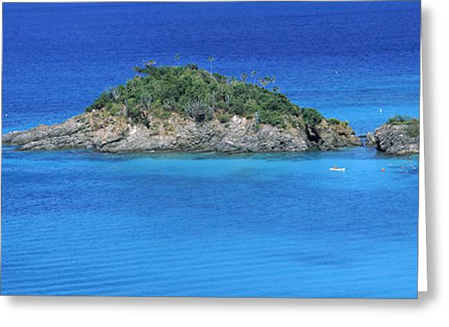 Trunk Bay Virgin Islands National Park Greeting Card by Panoramic Images