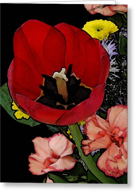 Tulip Number One Greeting Card