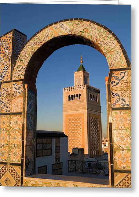 Tunis Greeting Card by Lucas Vallecillos - Vwpics