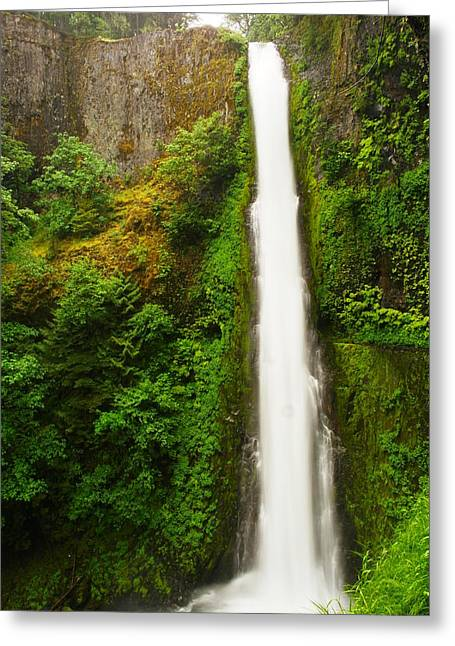 Tunnel Falls  Greeting Card by Jeff Swan
