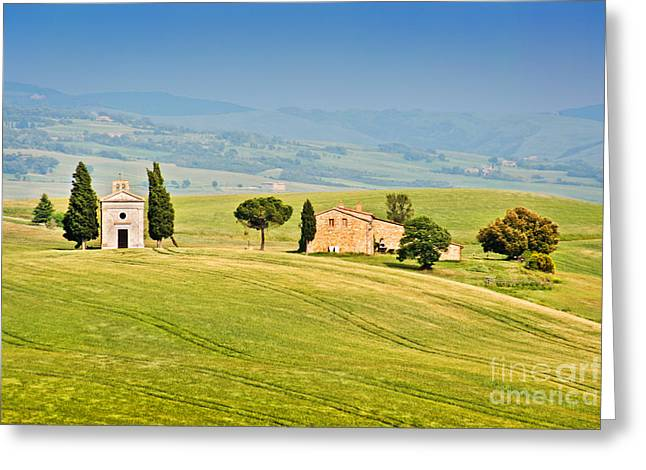 Tuscany Greeting Card by JR Photography
