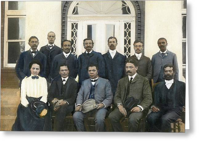 Tuskegee Faculty Council Greeting Card by Granger