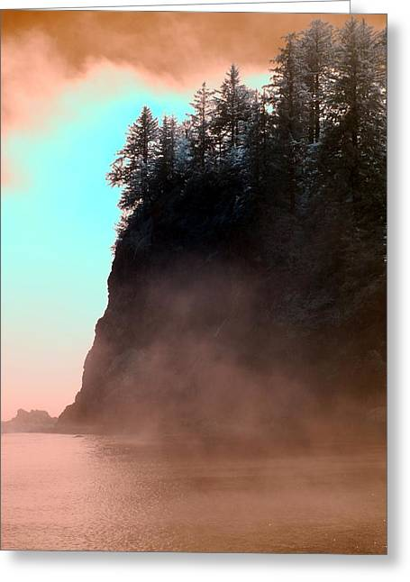 Greeting Card featuring the photograph Twilight Moments by Rebecca Parker