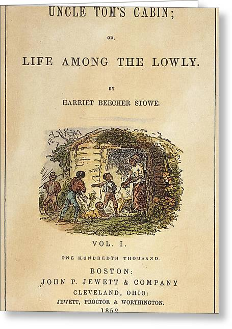 Uncle Tom's Cabin, 1852 Greeting Card by Granger