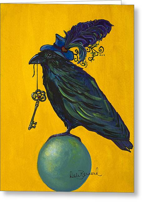 Uncommon Raven Love 2 Greeting Card